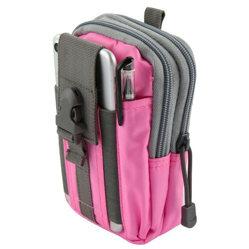 Tactical Molle Cell Phone Pouch Pink Hd Accessory