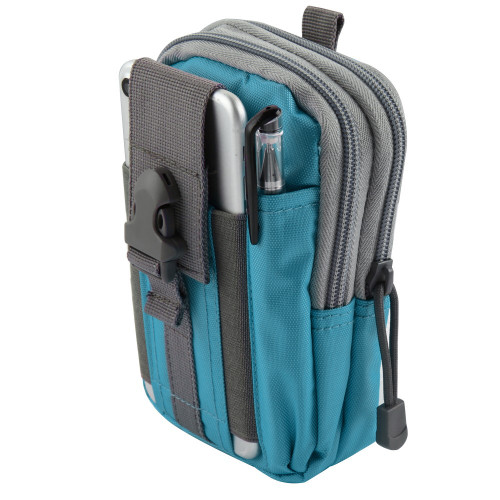 Tactical Molle Cell Phone Pouch Blue Hd Accessory