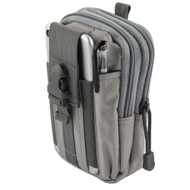 Tactical MOLLE Cell Phone Pouch - Grey