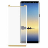 3D Full Curved Coverage Premium HD Tempered Glass Screen Protector for Samsung Galaxy Note 8 - Gold