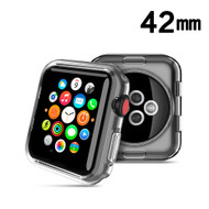 Thermoplastic Polyurethane Bumper Case for Apple Watch 42mm - Clear