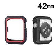 Sport Bumper Case for Apple Watch 42mm - Red Black