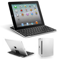 *SALE* Ultra-Thin Bluetooth Wireless Aluminum Keyboard Cover with Stand for iPad 2, iPad 3 and iPad 4th Generation
