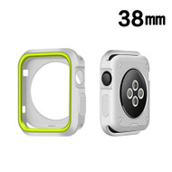 Performance Sports Bumper Case for Apple Watch 38mm - Green Grey