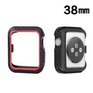 Sport Bumper Case for Apple Watch 38mm - Red Black