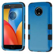 *Sale* Military Grade Certified TUFF Image Hybrid Armor Case for Motorola Moto E4 Plus - Blue