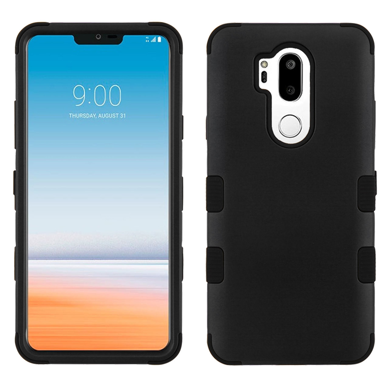 Military Grade Certified TUFF Hybrid Armor Case for LG G7