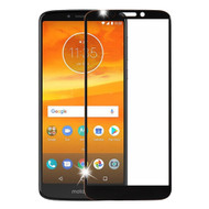 Premium Full Coverage Tempered Glass Screen Protector for Motorola Moto E5 Plus - Black