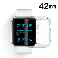Invisible Thermoplastic Polyurethane Case for Apple Watch 42mm - Clear