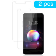 Premium Full Coverage 2.5D Round Edge Tempered Glass Screen Protector for LG Stylo 4 / Stylo 4 Plus - Twin Pack