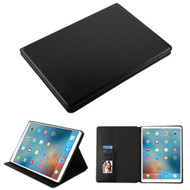 Book-Style Leather Folio Case for iPad Pro 12.9 inch (1st and 2nd Generation) - Black