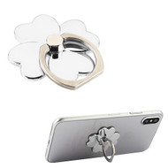 Smart Loop Universal Smartphone Holder & Stand - Flower Silver