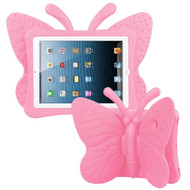 Kids Friendly Butterfly Case with Adjustable Wings for iPad (2018/2017) / iPad Pro 9.7 / iPad Air 2 - Pink
