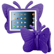 Kids Friendly Butterfly Case with Adjustable Wings for iPad (2018/2017) / iPad Pro 9.7 / iPad Air 2 / iPad Air - Purple