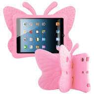 Kids Friendly Butterfly Shock Proof Case with Adjustable Wings for iPad Mini - Pink