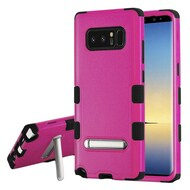 Military Grade Certified TUFF Hybrid Armor Case with Stand for Samsung Galaxy Note 8 - Hot Pink