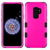 Military Grade Certified TUFF Hybrid Armor Case for Samsung Galaxy S9 Plus - Hot Pink