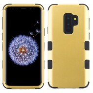 Military Grade Certified TUFF Hybrid Armor Case for Samsung Galaxy S9 Plus - Gold