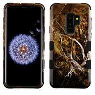 Military Grade Certified TUFF Image Hybrid Armor Case for Samsung Galaxy S9 Plus - Tree Camouflage 198