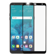 Premium Full Coverage 2.5D Tempered Glass Screen Protector for LG Stylo 4 / Stylo 4 Plus - Black