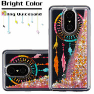 Quicksand Glitter Transparent Case for LG Stylo 4 / Stylo 4 Plus - Dreamcatcher