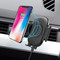 Infrared Auto Sensing Air Vent Mount & Qi Wireless Fast Charger - Black