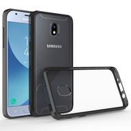 Polymer Transparent Hybrid Case for Samsung Galaxy J3 (2018) - Black
