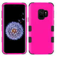 Military Grade Certified TUFF Hybrid Armor Case for Samsung Galaxy S9 - Hot Pink