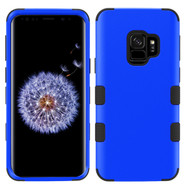 Military Grade Certified TUFF Hybrid Armor Case for Samsung Galaxy S9 - Blue 005