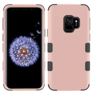 Military Grade Certified TUFF Hybrid Armor Case for Samsung Galaxy S9 - Rose Gold 059