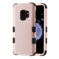 Military Grade Certified TUFF Hybrid Armor Case for Samsung Galaxy S9 - Rose Gold 403