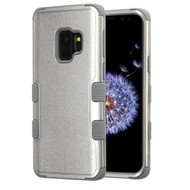 Military Grade Certified TUFF Hybrid Armor Case for Samsung Galaxy S9 - Grey 407
