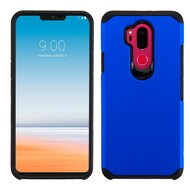 Hybrid Multi-Layer Armor Case for LG G7 ThinQ - Blue