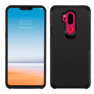Hybrid Multi-Layer Armor Case for LG G7 ThinQ - Black