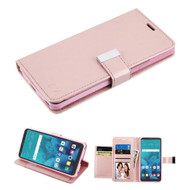 Xtra Series  Essential Leather Wallet Stand Case for LG Stylo 4 / Stylo 4 Plus - Rose Gold