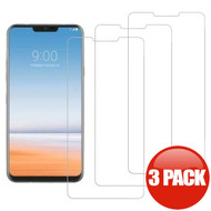 *SALE* HD Premium 2.5D Round Edge Tempered Glass Screen Protector for LG G7 ThinQ - 3 Pack