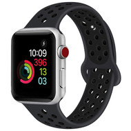 Soft Breathable Sport Band Strap for Apple Watch 44mm / 42mm - Black