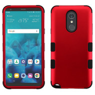 Military Grade Certified TUFF Hybrid Armor Case for LG Stylo 4 / Stylo 4 Plus - Red