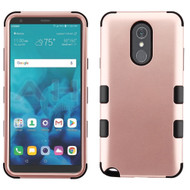 Military Grade Certified TUFF Hybrid Armor Case for LG Stylo 4 / Stylo 4 Plus - Rose Gold