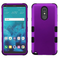 Military Grade Certified TUFF Hybrid Armor Case for LG Stylo 4 / Stylo 4 Plus - Purple