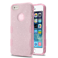 *Sale* Tuff Full Glitter Hybrid Protective Case for iPhone SE / 5S / 5 - Pink