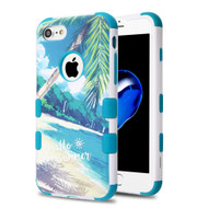 Military Grade Certified TUFF Image Hybrid Armor Case for iPhone 8 / 7 - Palm Beach