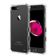 *Sale* TUFF Klarity Premium Transparent Anti-Shock TPU Case for iPhone 8 Plus / 7 Plus / 6S Plus / 6 Plus - Clear
