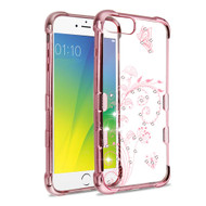 *Sale* TUFF Klarity Electroplating TPU Diamond Case for iPhone 8 Plus / 7 Plus / 6S Plus / 6 Plus - Lily of Valley