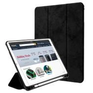 *SALE* Premium Smart Hybrid Case with Apple Pencil Holder for iPad (2018/2017) / iPad Pro 9.7 / iPad Air 2 - Black