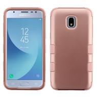 *Sale* Military Grade Certified TUFF Hybrid Armor Case for Samsung Galaxy J3 (2018) / J3 Achieve / J3 Star - Rose Gold