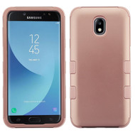 Military Grade Certified TUFF Hybrid Armor Case for Samsung Galaxy J7 (2018) / J7 Refine / J7 V (2nd Gen) - Rose Gold