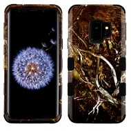 Military Grade Certified TUFF Image Hybrid Armor Case for Samsung Galaxy S9 - Tree Camouflage