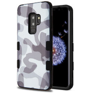 Military Grade Certified TUFF Image Hybrid Armor Case for Samsung Galaxy S9 Plus - Camouflage Grey
