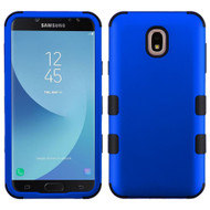 Military Grade Certified TUFF Hybrid Armor Case for Samsung Galaxy J7 (2018) / J7 Refine / J7 V (2nd Gen) - Blue